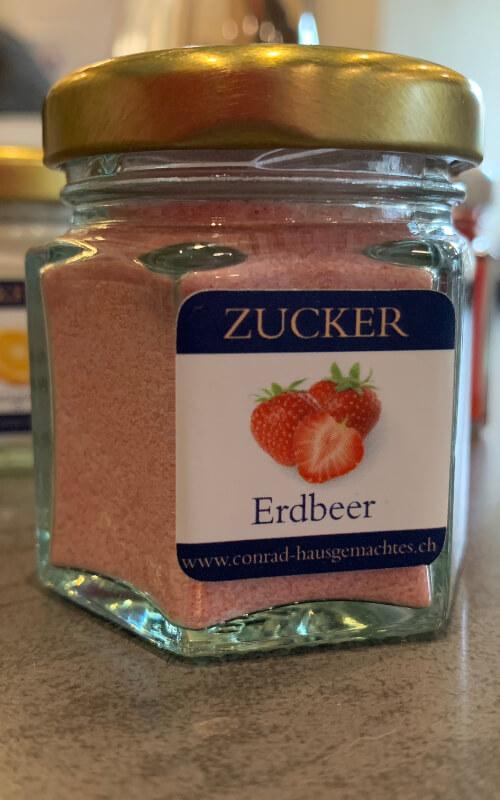 Erdbeer Aromazucker