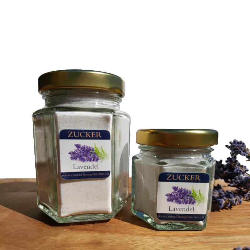 Zucker Lavendel