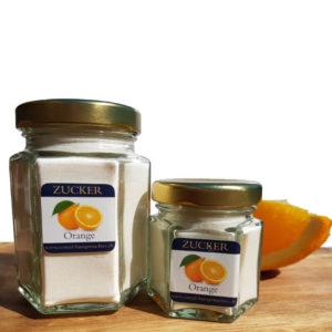 Zucker Orangen