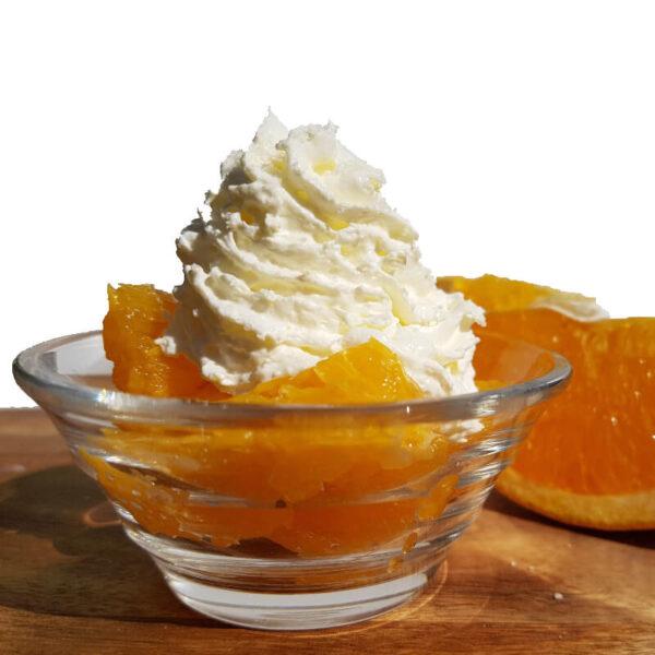 Orangendessert