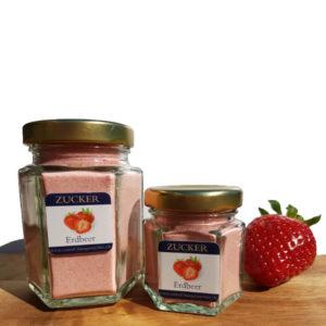 Erdbeeren-Aromazucker