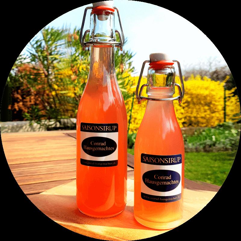 Hausgemacht Zucker Sirup, Aromazucker und Fruchtaufstriche
